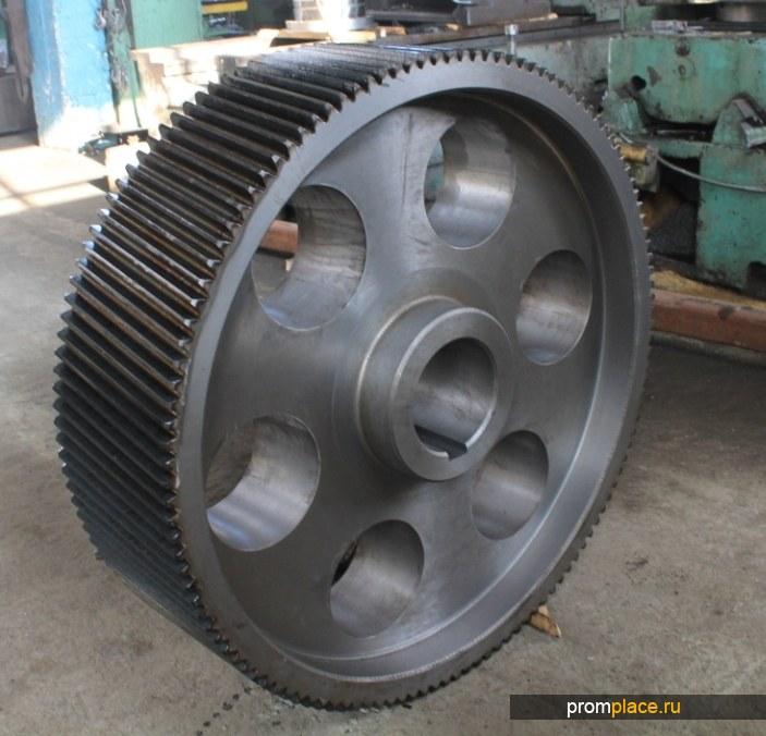 Механическая обработка, изготовление шестерен ,вал-шестерней ,бандажей ,зубчатых колес
