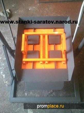 Станок для производства сплитерных блоков 39х19х19 РВК-2