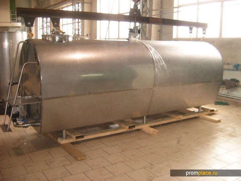 Резервуар-охладитель молока
