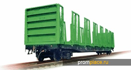 Платформа унифицированная для перевозки лесоматериалов и хлыстов  Модель: 23-925