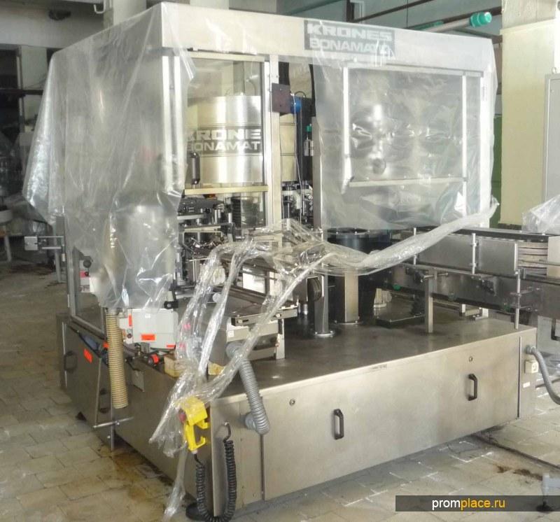 Продам этикетавтомат KRONES BONAMATIC (Германия)