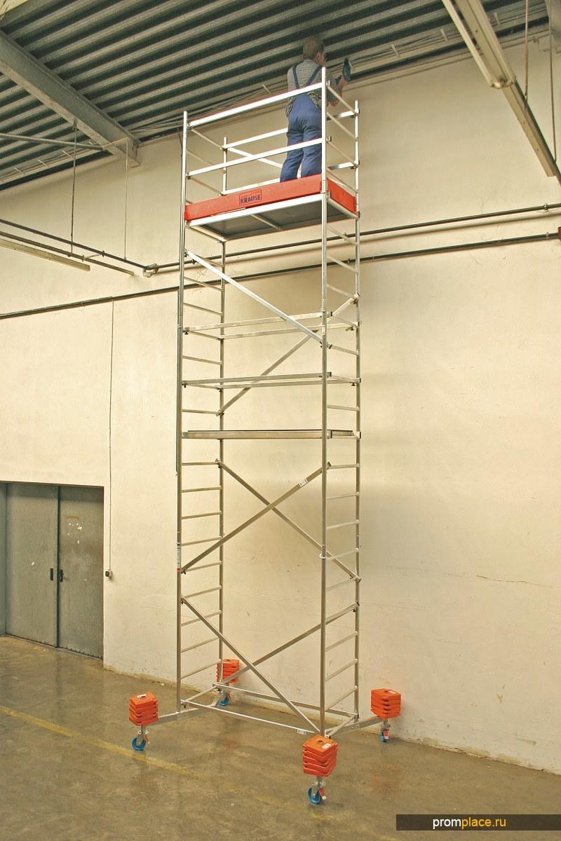 ClimTec Передвижная вышка-тура алюминиевая (раб. высота до 7 метров)