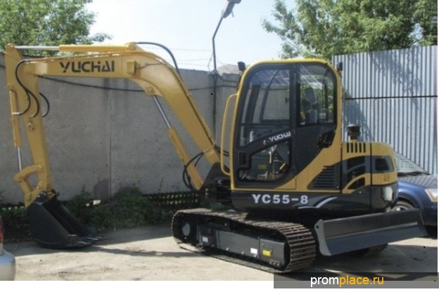 Экскаватор YUCHAI 55-8