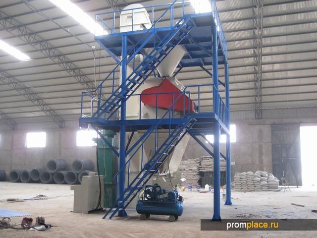 сухие строительные смеси 10тонн в час
