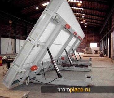 Столы для изготовления бетонных конструкций.