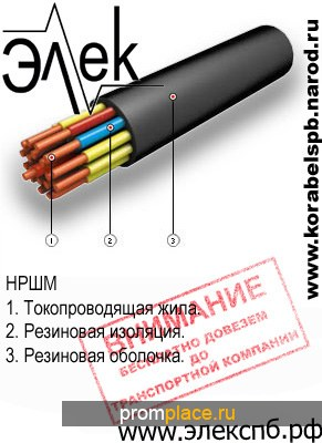 НРШМ продажа судового кабеля
