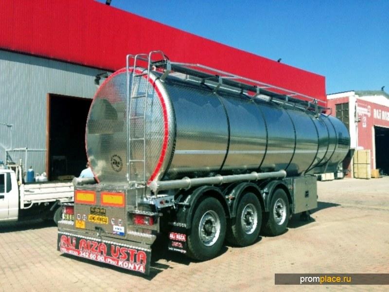 Пищевая полуприцеп-цистерна 28 000 литров