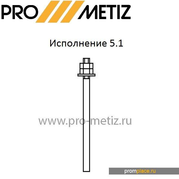 Болт фундаментный 5.1 ГОСТ24379.1-80.Из любой марки стали.