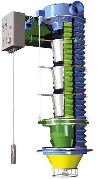 Телескопические загрузчики для автоцистерн ZG
