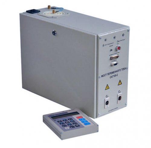 Мост СА-7100, СА-7100/2 и СА-7100/3  переменного тока цифровой высоковольтный