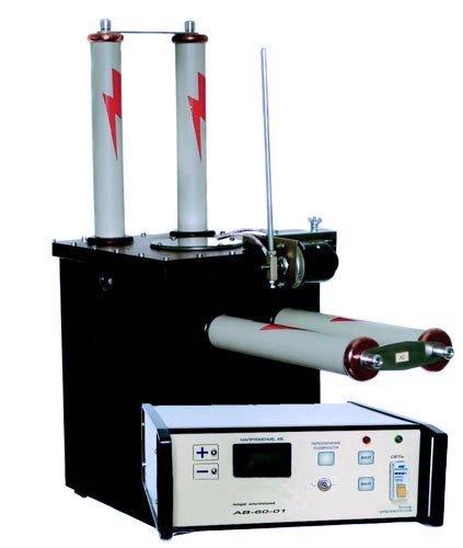 Аппарат высоковольтный АВ-60-01 для испытания СНЧ кабеля