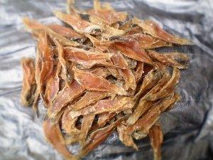 Филе бычка без шкуры солено-сушено