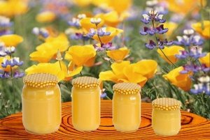 Цветочный мед с личной пасики