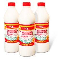 Продаем молоко отборное жирностью 3,4-5% Бежин луг