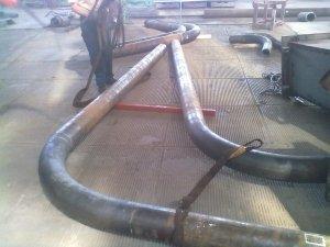 Предлагаем отводы гнутые для паропроводов ТЭС