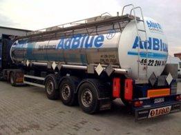 Предлагаем водный раствор мочевины ADBLUE