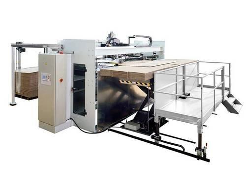 Сшивная машина для гофрокартона DLN, Германия