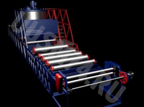 Линия для производства рубероида (новая технология)