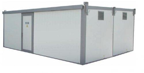 Распределительное устройство наружной установки в двух блок-модулях РУ-6(10)-У1
