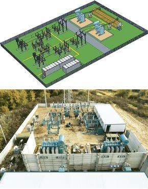 Комплектная трансформаторная подстанция блочная КТПБ- 110/6(10)