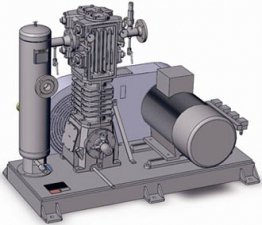 Поршневой компрессорный агрегат Corken 12 куб. м/час