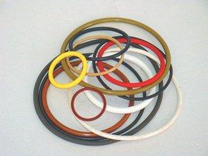Кольца резиновые по ГОСТ 9833 и нестандартные