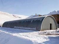 Ангары бескаркасные,быстровозводимые сооружения строим