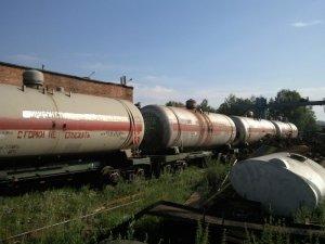 Предлагаем емкость газовую 54м3