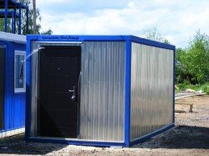 Предлагаем блок- контейнер (будка, вагончик, бытовка) металлический от 53 000