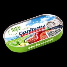 """Консервы """"Сардины филе в томатном соусе"""""""