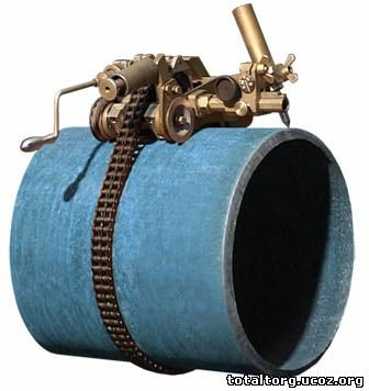 Машины резки труб с ручным приводом КРОТ