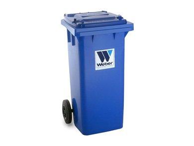 Евроконтейнеры для сбора отходов и мусора MGB 120 литров - Контейнеры для ТБО марки Weber