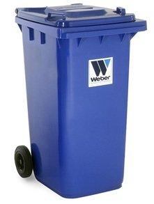 Евроконтейнеры для сбора отходов и мусора MGB 240 литров - Контейнеры для ТБО марки Weber