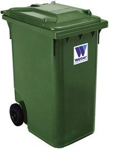 Евроконтейнеры для сбора отходов и мусора MGB 360 литров - Контейнеры для ТБО марки Weber