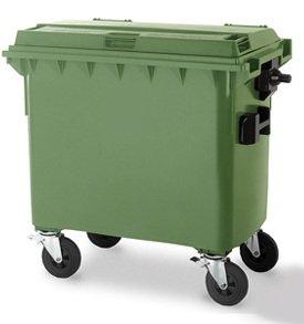 Евроконтейнеры для сбора отходов и мусора MGB 660 литров - Контейнеры для ТБО марки Weber
