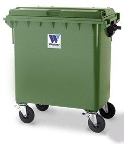 Евроконтейнеры для сбора отходов и мусора MGB 770 литров - Контейнеры для ТБО марки Weber