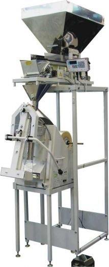 Дозирующий упаковочный полуавтомат для пельменей, крупнокусковых замороженных продуктов