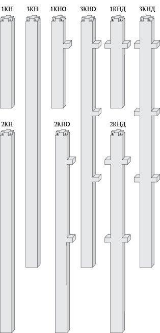 Колонны для высоты этажа 3м