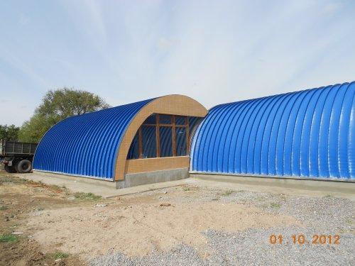 Компания ООО «Монтаж»  выполняет строительство ангаров всех типов.