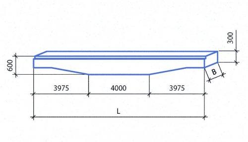 Балки СБНОС переменной высоты для междуэтажных перекрытий