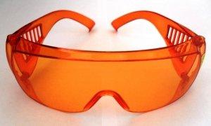 Очки защитные оранжевые