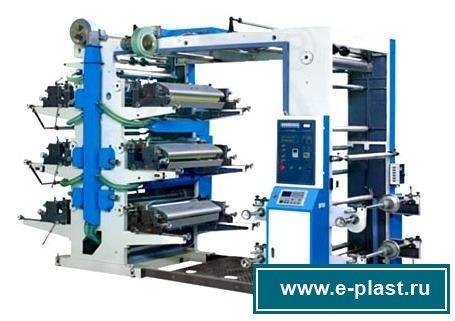 оборудование для печати на пленке и пакетах