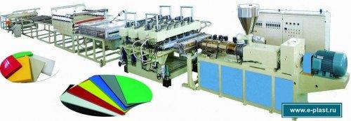 Оборудование для производства листов