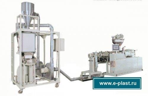оборудование для грануляции