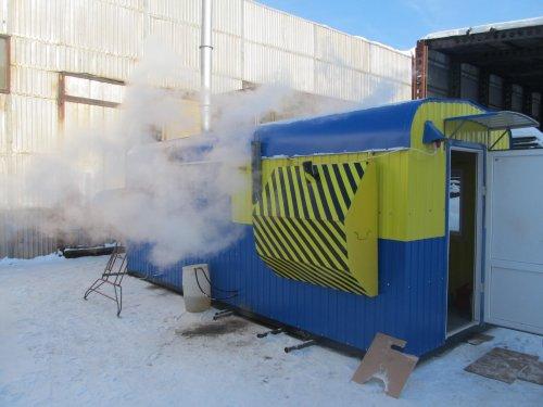 парогенератор для бетонного завода
