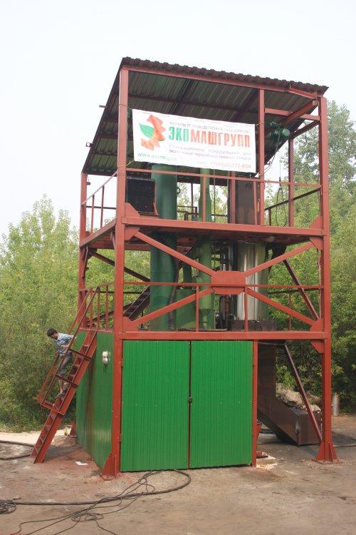 EcoMachine AMR-100. Электроэнергия из отходов