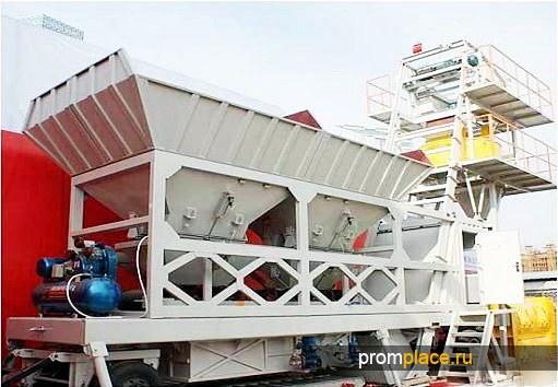 Мобильный бетонный завод YHZS35