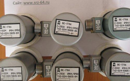 Датчики угловых перемещений ВЕ178 А5