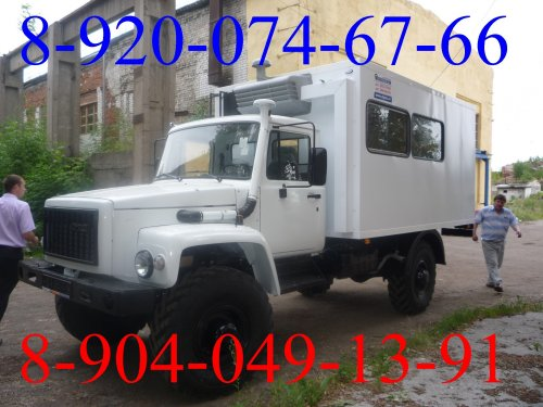 Передвижная  мастерская ГАЗ 33081  со  сварочным  генератором