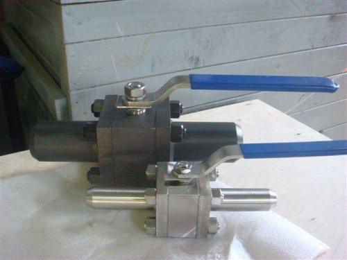 Краны шаровые стальные под приварку Ру 160 кг/см3